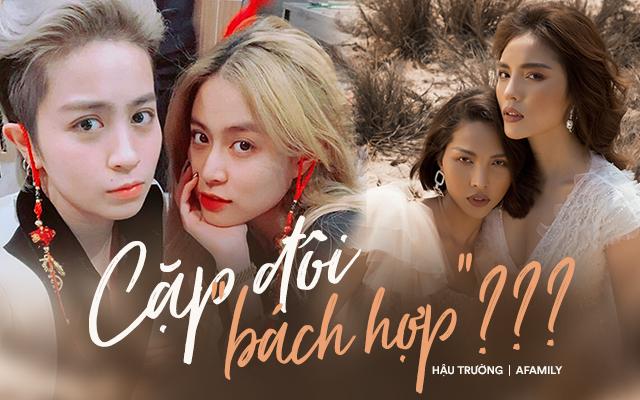 """Soi mức độ đẹp đôi và cách thể hiện tình cảm của hai cặp """"bách hợp"""" đang được ủng hộ nhất showbiz Việt - Ảnh 1."""