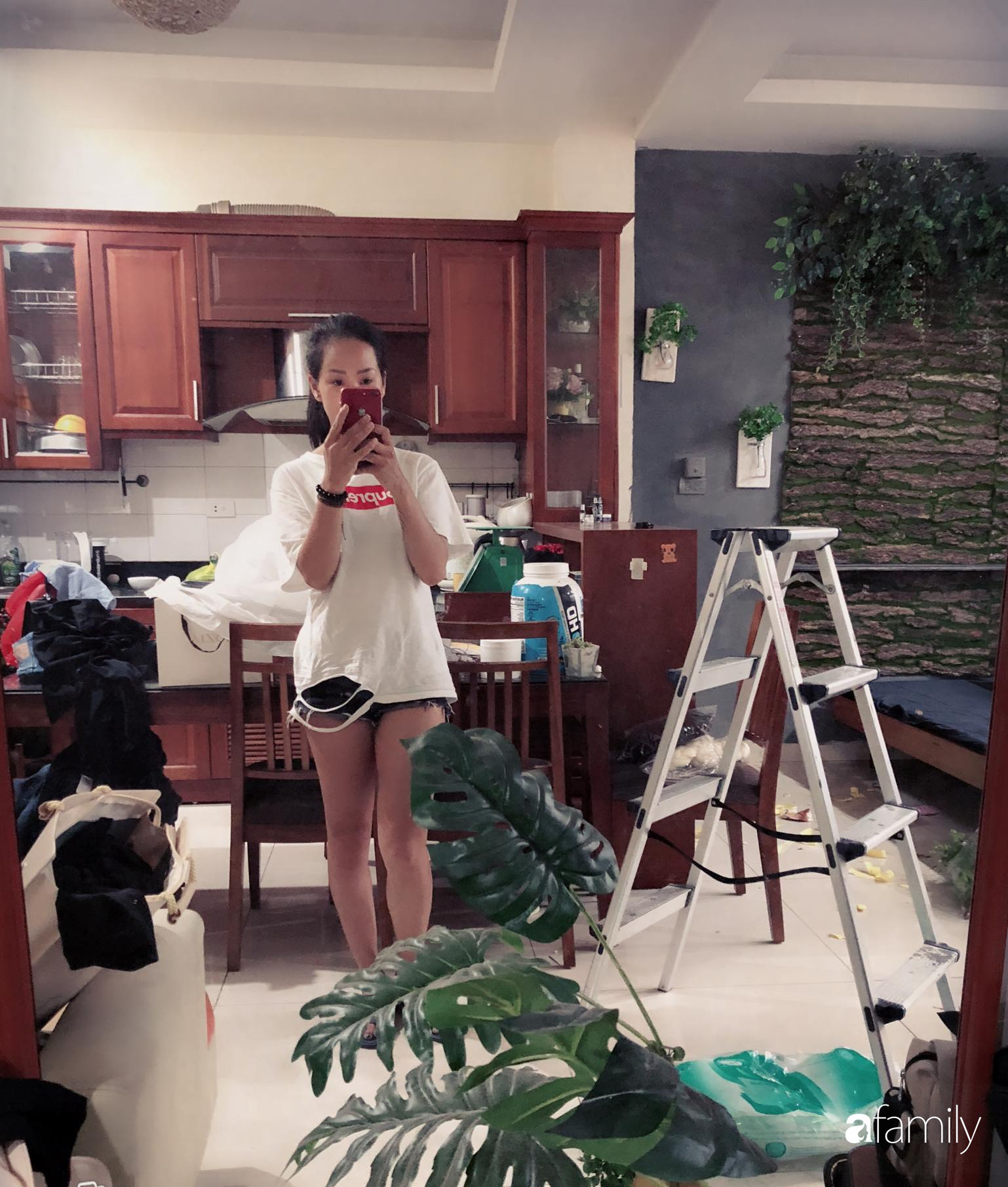 Bà mẹ trẻ Hà Nội biến phòng trọ 22m² thành homestay đẹp hút mắt cho riêng mình với chi phí cải tạo chỉ 5 triệu đồng - Ảnh 2.