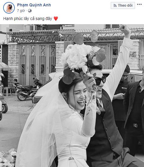 Dàn sao Việt xúc động chia sẻ cảm nghĩ khi Đông Nhi trở thành vợ Ông Cao Thắng sau 10 năm - Ảnh 2.