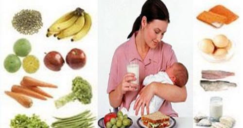 Chế độ dinh dưỡng cho bà mẹ nuôi con bú - Ảnh 1.