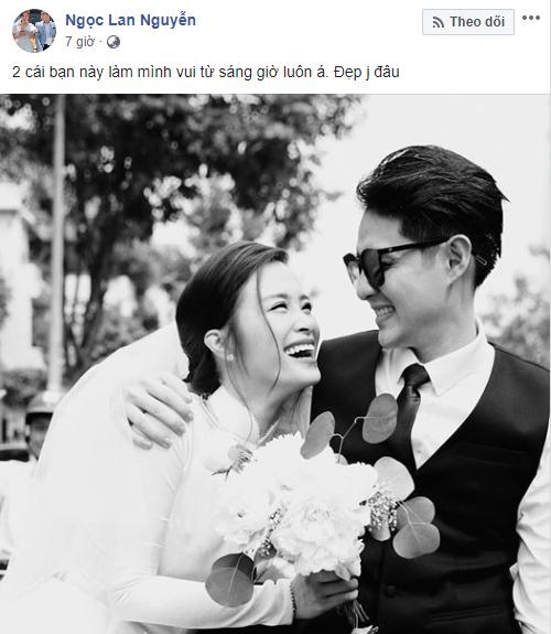 Dàn sao Việt xúc động chia sẻ cảm nghĩ khi Đông Nhi trở thành vợ Ông Cao Thắng sau 10 năm - Ảnh 3.