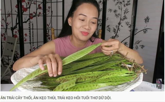 Vinh Nguyễn Thị - vlogger dũng cảm nhất giới Youtube: Sẵn sàng thử các loại đồ ăn thối nhất, chuyên gia ăn ớt thử độ bền của lưỡi - Ảnh 4.