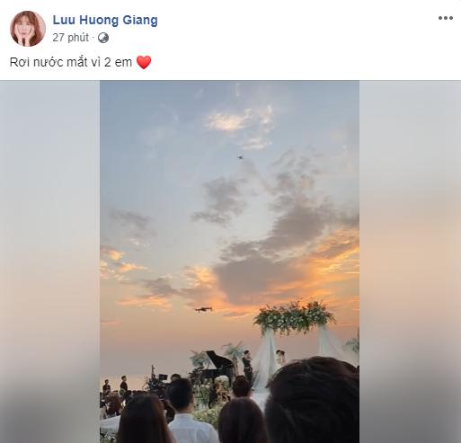 Phản ứng của dàn sao Việt trong giây phút Đông Nhi - Ông Cao Thắng nắm tay kết đôi vợ chồng: Ai cũng khóc như mưa, Noo Phước Thịnh, Ngô Kiến Huy dặn dò cẩn thận - Ảnh 5.