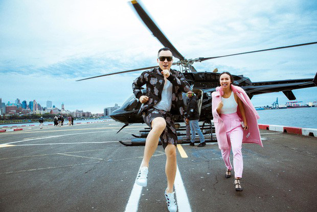 """Vũ Khắc Tiệp cứ làm vlog là phải có một cô nàng chân dài đi theo: Khi thì là Ngọc Trinh """"nữ hoàng nội y"""", lúc lại là cô MC sống tận nước Mỹ - Ảnh 7."""
