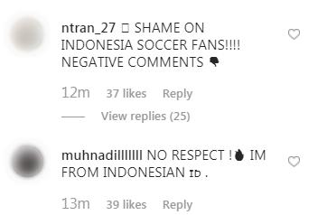 Đăng ảnh ăn mừng chiến thắng trên Instagram, Đoàn Văn Hậu bị cổ động viên Indonesia tràn vào bình luận miệt thị, xúc phạm nặng nề - Ảnh 7.