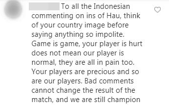 Đăng ảnh ăn mừng chiến thắng trên Instagram, Đoàn Văn Hậu bị cổ động viên Indonesia tràn vào bình luận miệt thị, xúc phạm nặng nề - Ảnh 8.