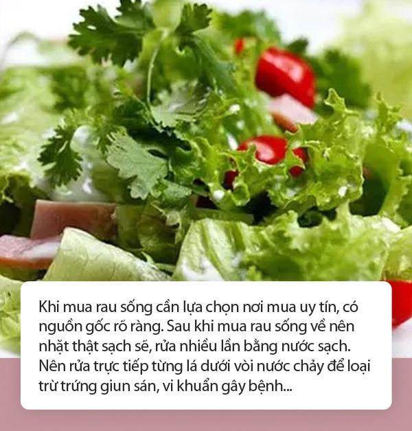 Ăn rau sống, hơn 100 người bị nhiễm vi khuẩn kháng kháng sinh – Lối thoát nào cho món ăn khoái khẩu? - Ảnh 3.