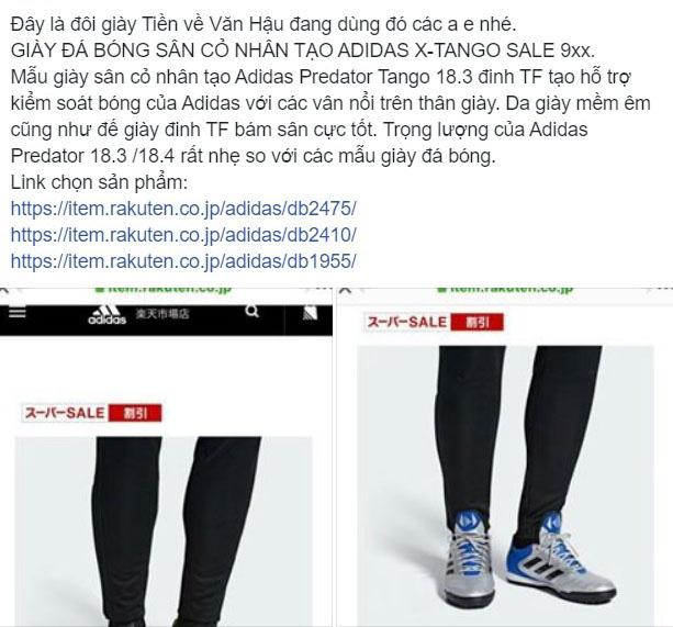 Giày của Đoàn Văn Hậu được dân tình săn lùng ráo riết, shop bán hàng online được dịp ăn lên làm ra - Ảnh 5.