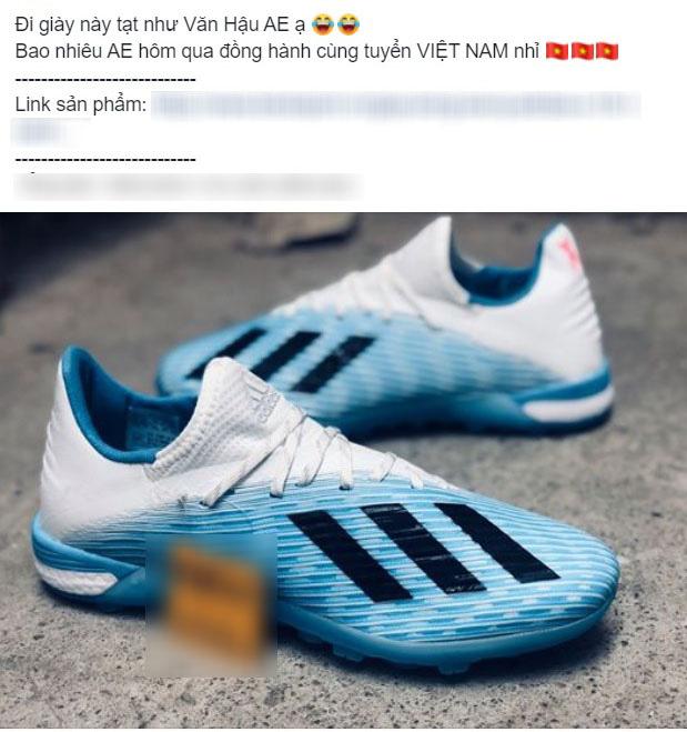 Giày của Đoàn Văn Hậu được dân tình săn lùng ráo riết, shop bán hàng online được dịp ăn lên làm ra - Ảnh 4.