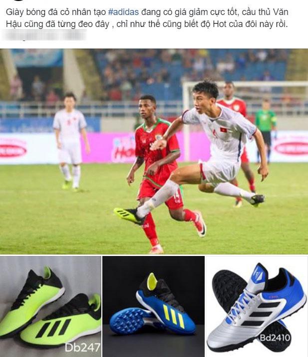 Giày của Đoàn Văn Hậu được dân tình săn lùng ráo riết, shop bán hàng online được dịp ăn lên làm ra - Ảnh 3.
