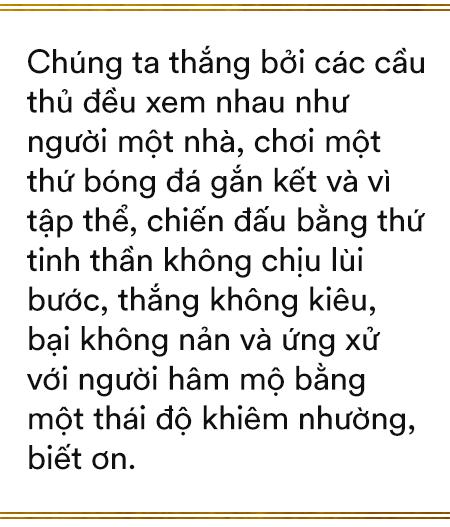 Song hỷ của bóng đá Việt và giấc mơ Vàng 60 năm đã trở thành sự thật: Không có Lọ Lem hay Thánh Gióng, chỉ có những con người khổ luyện thành tài, đam mê và tận hiến - Ảnh 9.