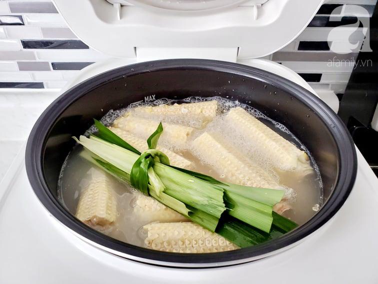 Hot Mom Huỳnh Phương Trang chia sẻ cách nấu 2 món chè siêu ngon bằng nồi cơm điện - Ảnh 2.