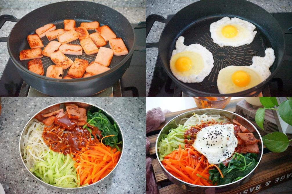 Bữa trưa ngon miệng cùng cơm trộn kiểu Hàn - Ảnh 3.