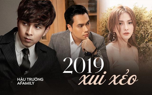 """Chẳng biết có phải năm xui tháng hạn không mà 2019 của những sao Việt này lại chẳng khác gì câu """"đen như mực"""" - Ảnh 1."""