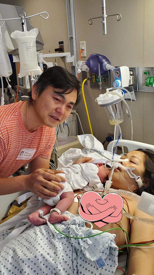 Mẹ Việt kể chuyện suýt chết khi sinh con, bệnh viện huy động 15 bác sĩ cấp cứu vì mất 80% máu trong cơ thể - Ảnh 2.