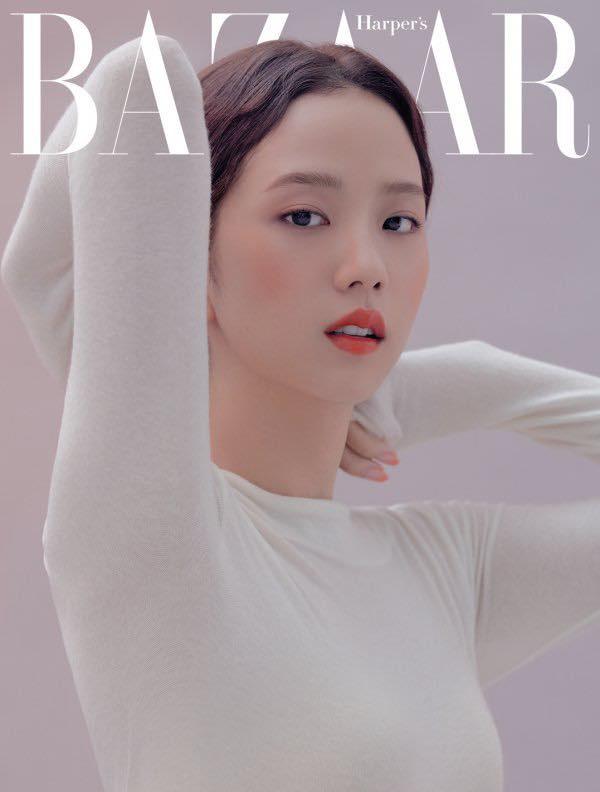 Jisoo (BLACKPINK) lại xuất hiện trên bìa tạp chí danh tiếng nhưng với vai trò mới khiến fan tự hào gấp bội - Ảnh 4.