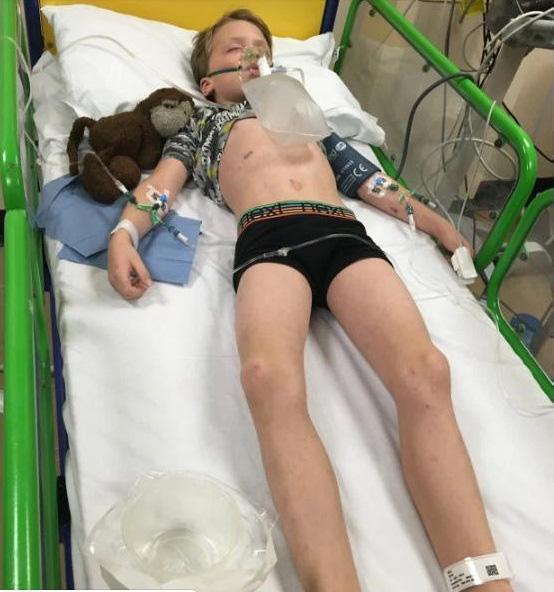 Bà mẹ trở tay không kịp khi con trai 6 tuổi tử vong vì bệnh viêm màng não chỉ sau 24 giờ phát bệnh - Ảnh 2.