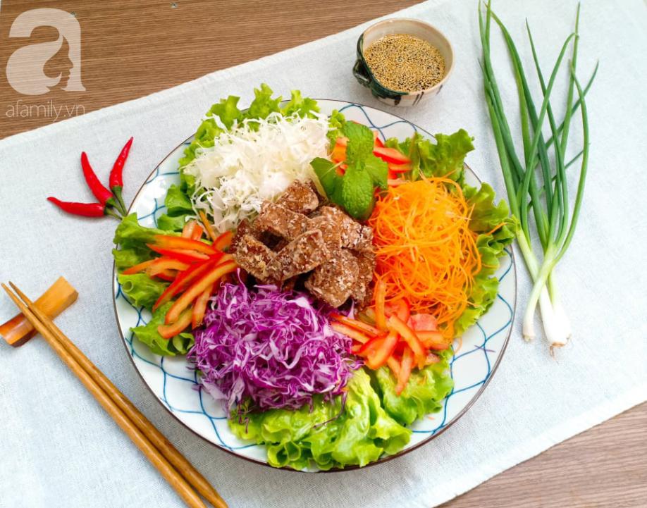 Ăn Eat Clean các mẹ đừng bỏ qua món salad ngũ sắc đẳng cấp nhà hàng này nhé - Ảnh 10.