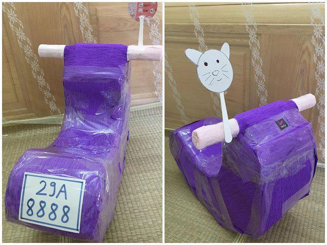 Đừng vội vứt bỏ hộp sữa đi, mẹ có thể biến nó thành ngựa bập bênh, cầu trượt cho con chơi đấy - Ảnh 12.