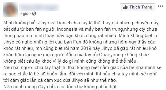 Vừa có tin đồn chia tay Kang Daniel, Jihyo (TWICE) bật khóc nức nở ngay trong concert khiến fan xót xa - Ảnh 4.