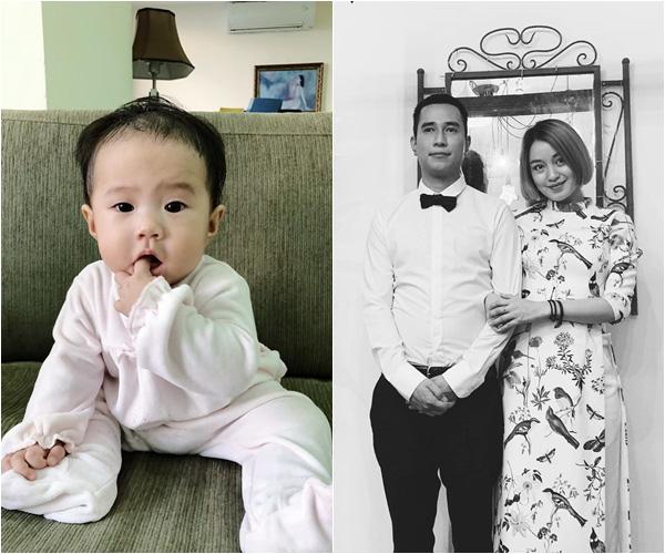 Cựu hot girl Mi Vân lần đầu lộ diện chồng mới nhân kỉ niệm 1 năm về chung nhà, hóa ra bé Chuồn giống bố y đúc - Ảnh 4.
