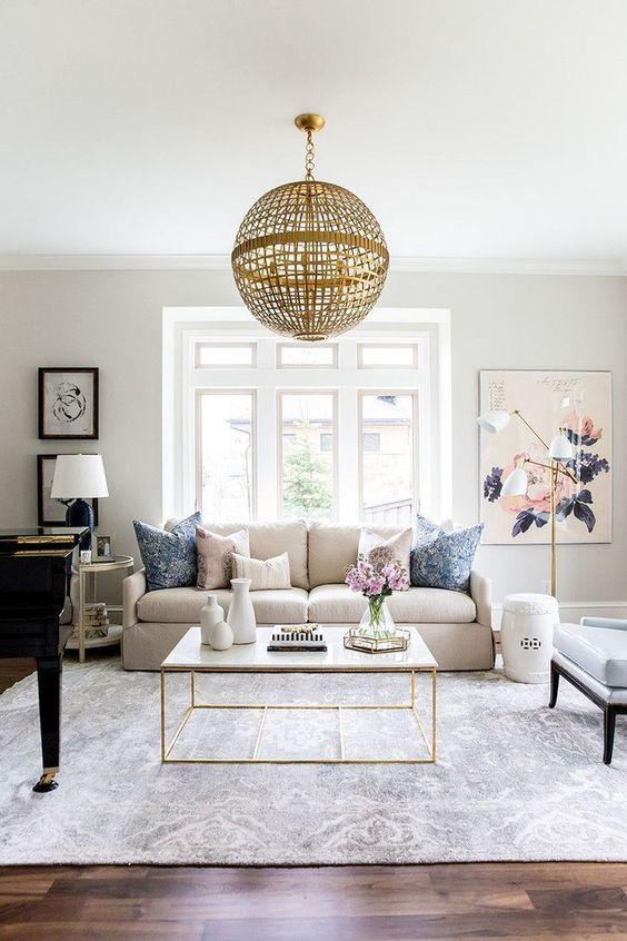 10 cách để làm sáng phòng khách màu be siêu dễ dàng - Ảnh 10.