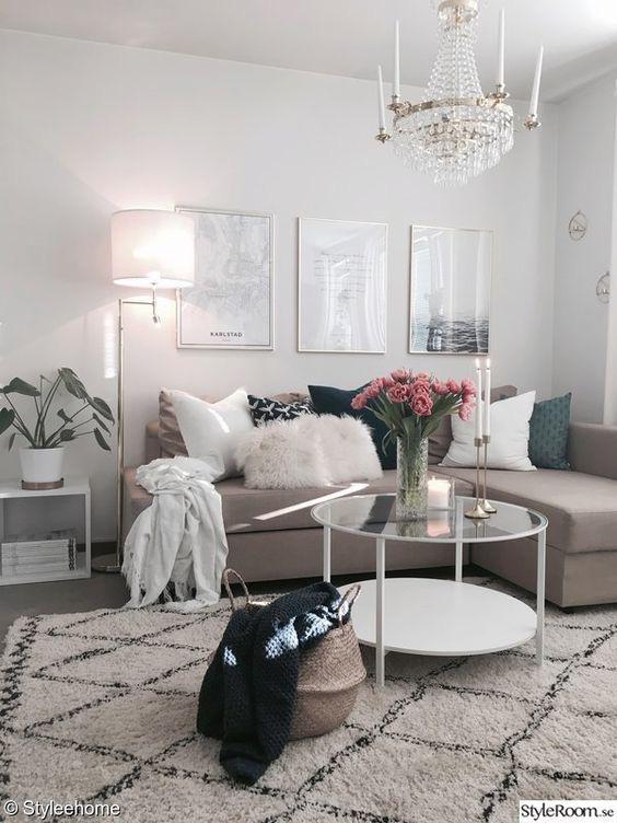 10 cách để làm sáng phòng khách màu be siêu dễ dàng - Ảnh 2.