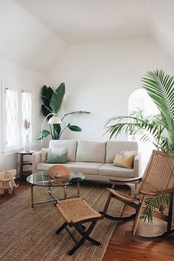 10 cách để làm sáng phòng khách màu be siêu dễ dàng - Ảnh 9.