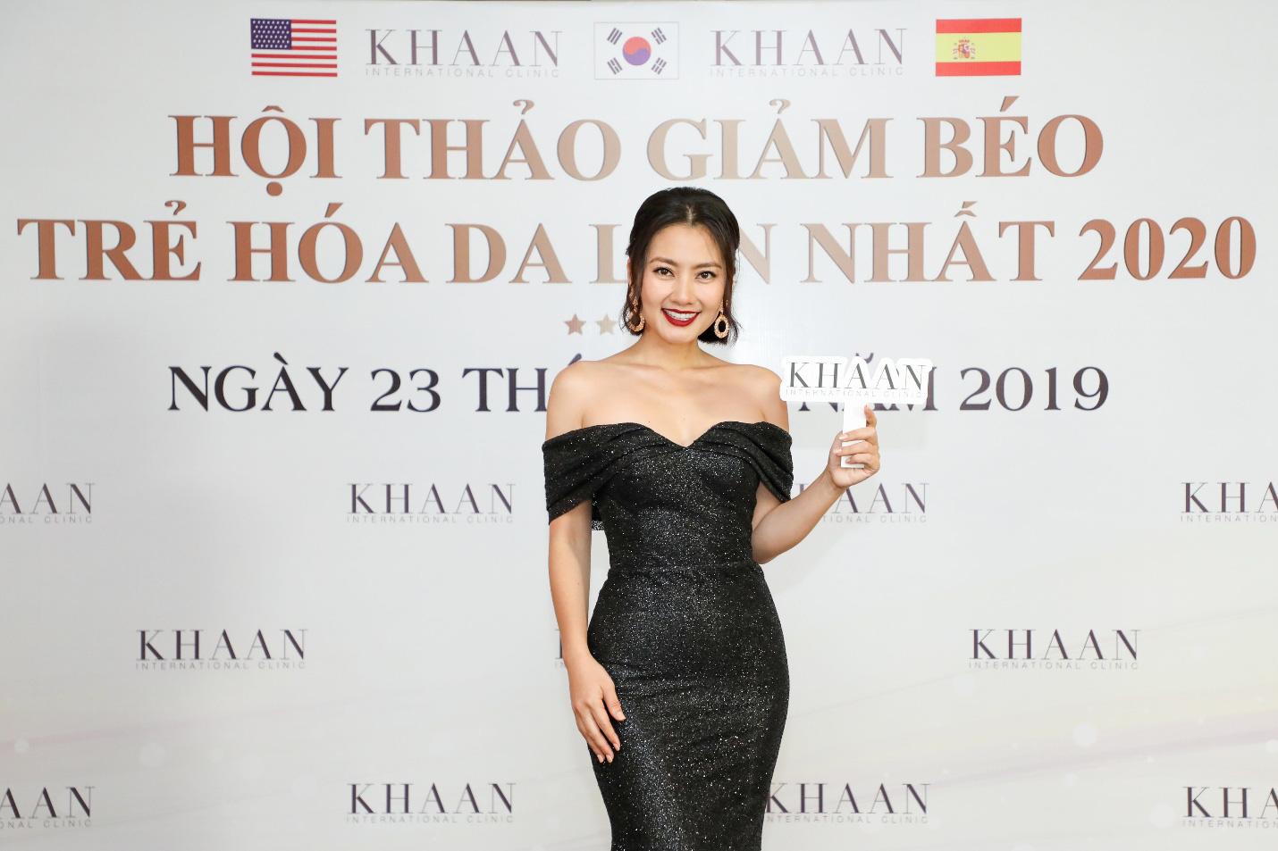 Hoa hậu Kỳ Duyên và dàn sao khủng quy tụ tại Hội thảo Giảm béo – Trẻ hoá da 2020 của Thẩm mỹ Quốc tế Khaan - Ảnh 4.