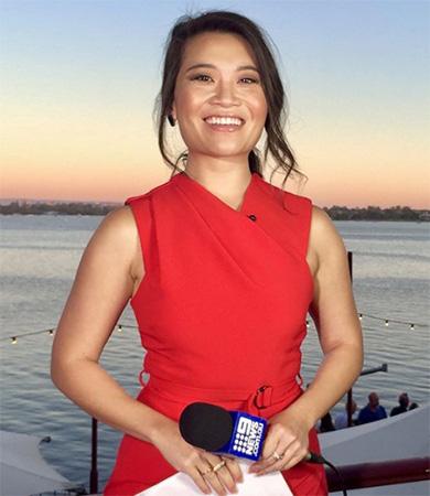 Nữ MC gốc Việt duy nhất dẫn chương trình nổi tiếng ở Australia - Ảnh 1.