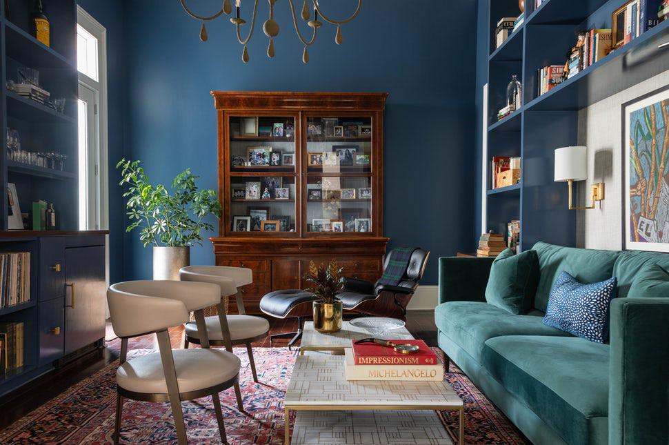 Bạn đã sẵn sàng trang hoàng ngôi nhà nhỏ của mình với gam màu xanh cổ điển  của năm 2020