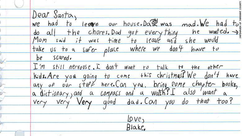 """Bức thư xin ông già Noel """"một người cha tốt"""" của cậu bé 7 tuổi - Ảnh 1."""