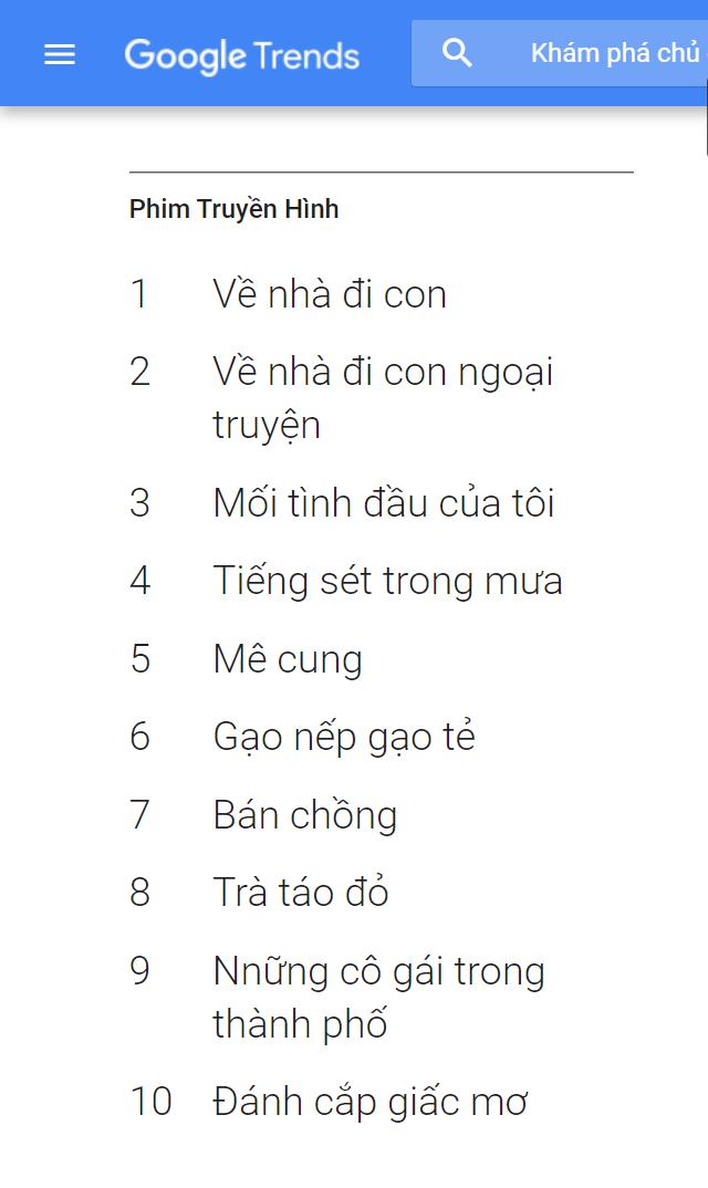 Phim Truyền Hinh Việt Bung Nổ Trong Năm 2019 Tam Ly Gia đinh Len Ngoi Hai Miền Bắc Nam đều Co Bom Tấn