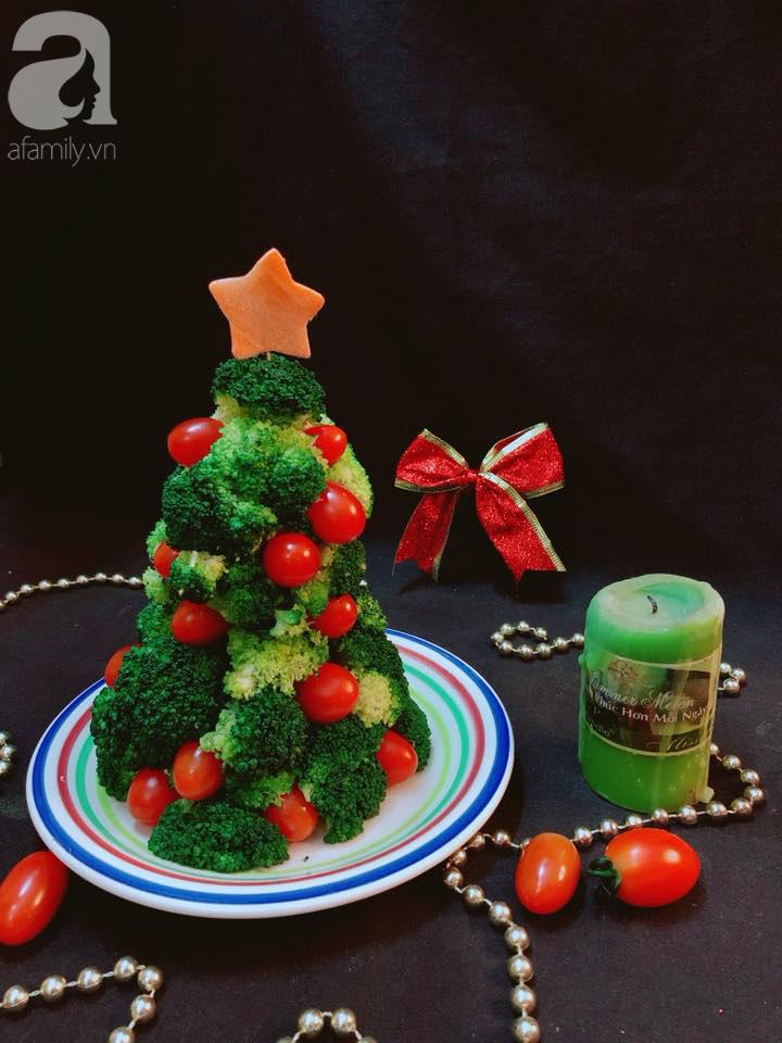 Dùng rau củ làm cây thông Noel trên bàn ăn mang không khí Giáng sinh về nhà - Ảnh 6.