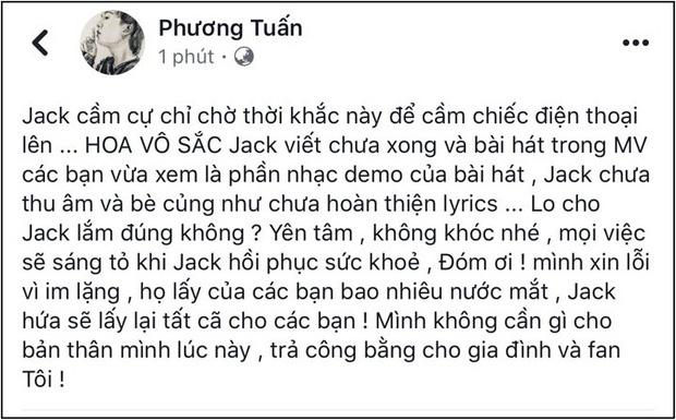 """Fans kêu gọi hủy subscribe và dislike MV """"Hoa Vô Sắc"""" để trừng trị K-ICM đòi công bằng cho Jack - Ảnh 6."""