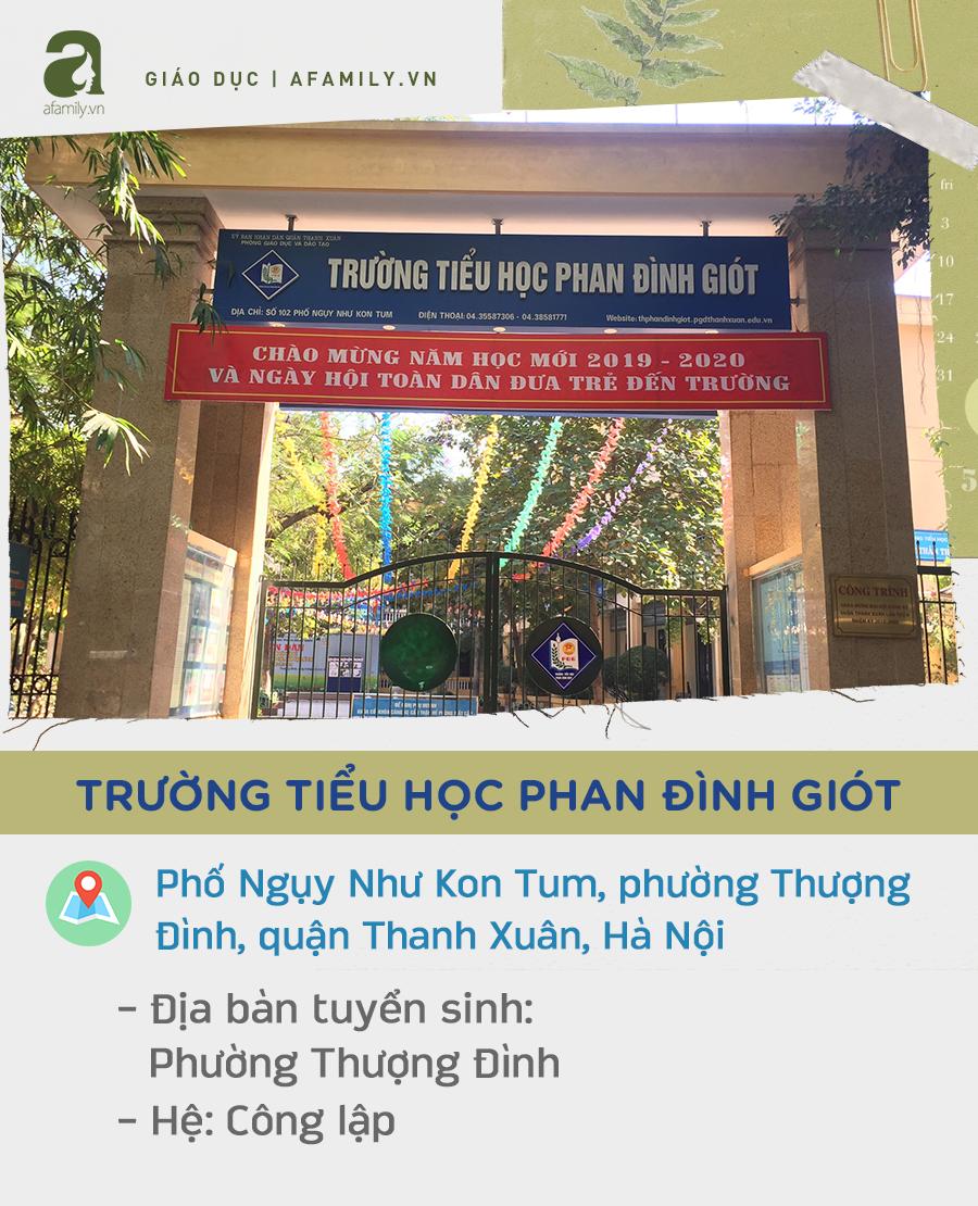Các trường tiểu học quận Thanh Xuân:  - Ảnh 2.