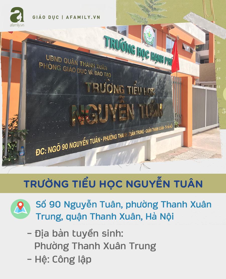 Các trường tiểu học quận Thanh Xuân:  - Ảnh 13.