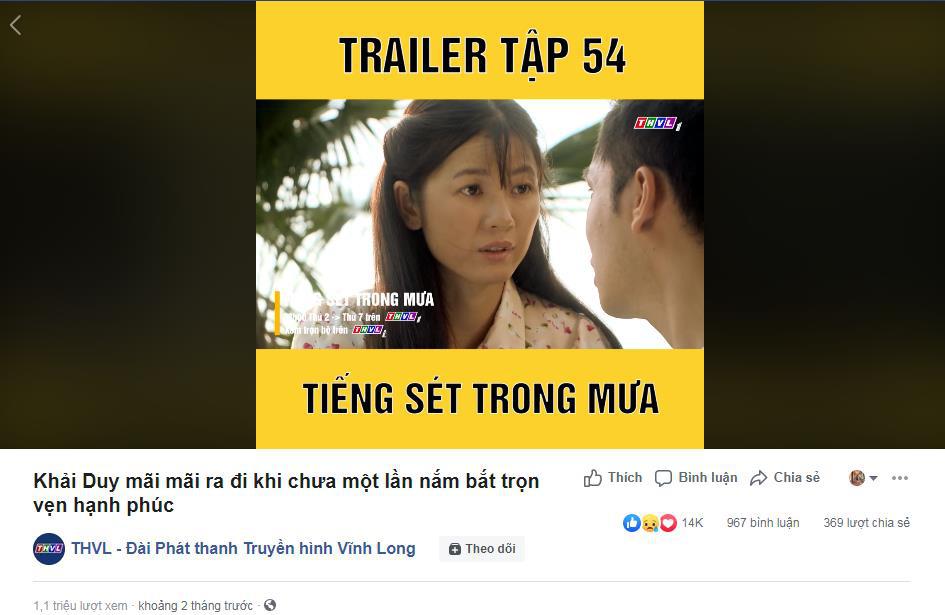 """""""Hiện tượng"""" Tiếng sét trong mưa của Nhật Kim Anh - Cao Minh Đạt được vinh danh là phim được xem nhiều nhất  - Ảnh 4."""