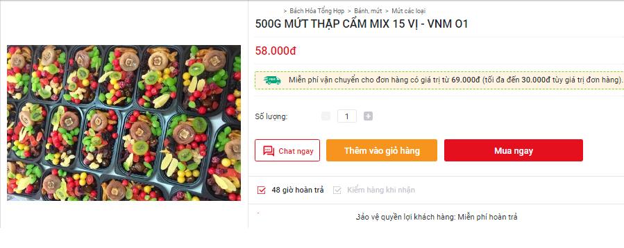 Thị trường xuất hiện loại mứt trái cây mix giá rẻ bán theo hộp, người tiêu dùng cần cảnh giác - Ảnh 5.