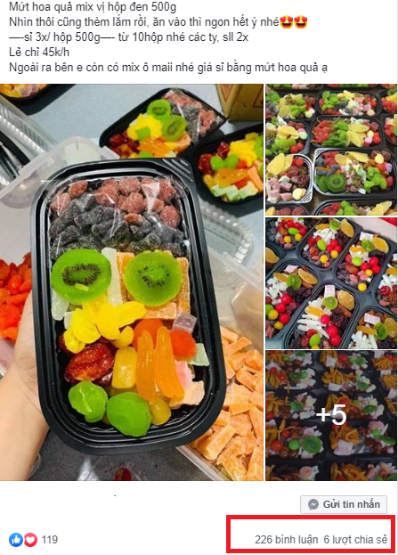Thị trường xuất hiện loại mứt trái cây mix giá rẻ bán theo hộp, người tiêu dùng cần cảnh giác - Ảnh 7.