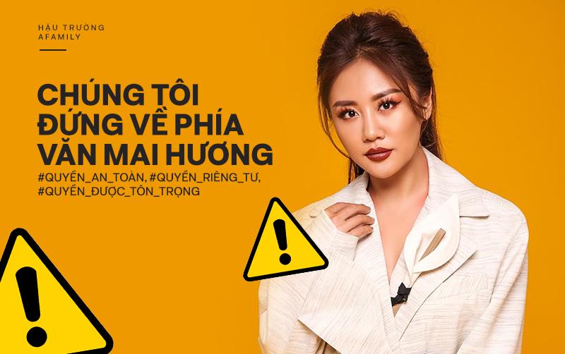 Từ vụ 5 clip tại nhà riêng bị tung lên mạng xã hội: Văn Mai Hương cần được bảo vệ, chúng tôi đứng về phía Văn Mai Hương - Ảnh 3.