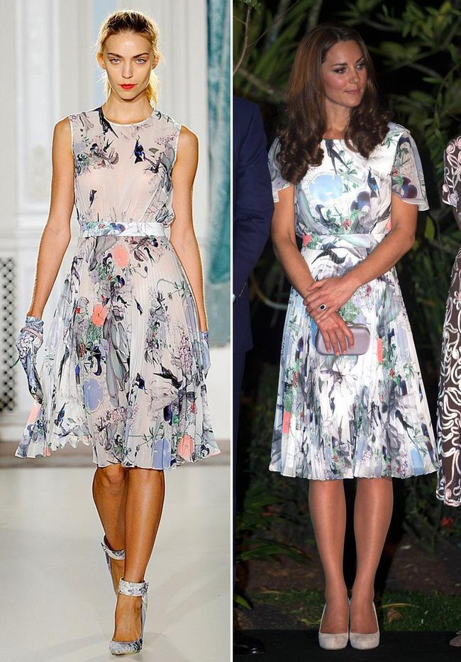 Để tránh tình huống hớ hênh khi mặc váy hở ngực, Công nương Kate khéo léo chỉnh sửa lại thiết kế trước khi diện - Ảnh 5.