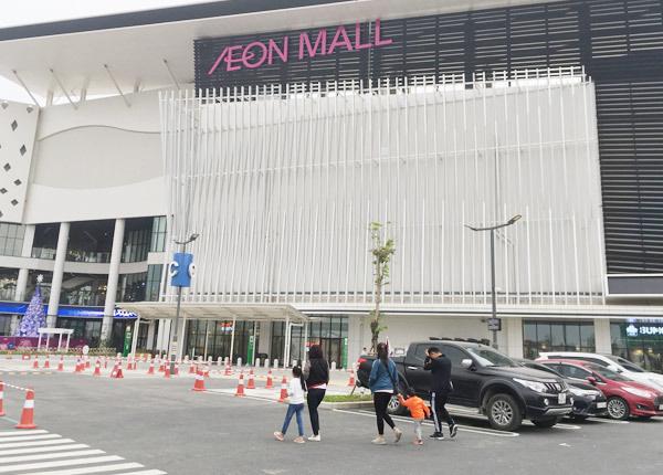 Thất vọng Aeon Mall Hà Đông, khai trương rồi hàng đóng cửa im lìm - Ảnh 2.