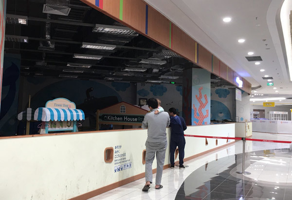 Thất vọng Aeon Mall Hà Đông, khai trương rồi hàng đóng cửa im lìm - Ảnh 11.