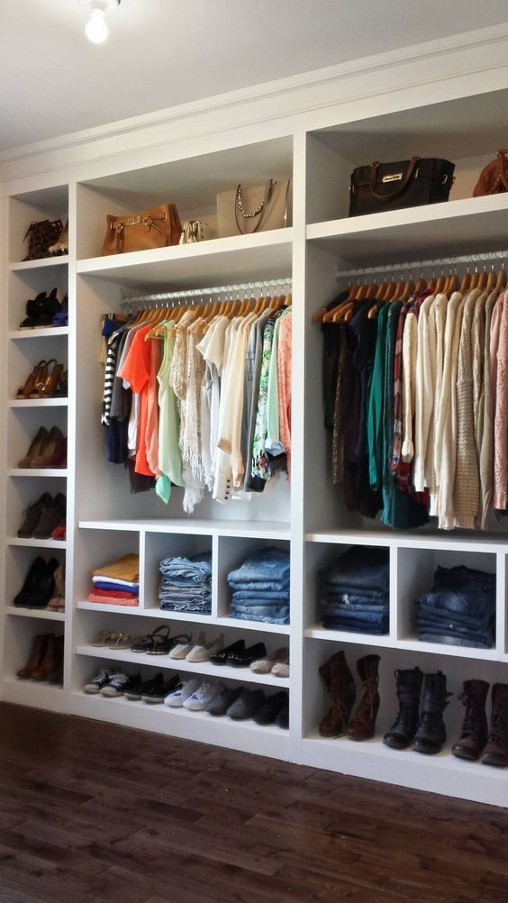 10 ý tưởng tổ chức tủ quần áo để bạn không phải đau đầu - Ảnh 6.