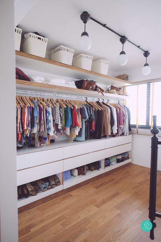 10 ý tưởng tổ chức tủ quần áo để bạn không phải đau đầu - Ảnh 9.