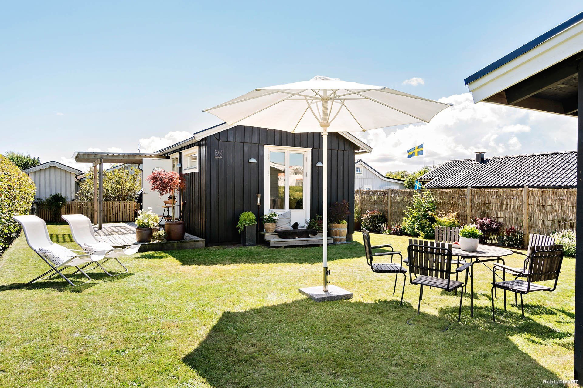Ngôi nhà 45m2 tọa lạc trên thảm cỏ xanh mượt với không gian sống trong lành ai nhìn cũng thích - Ảnh 1.