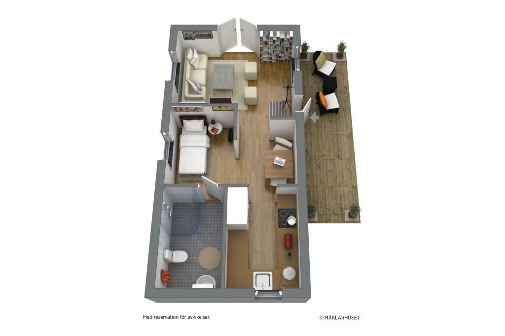 Ngôi nhà 45m2 tọa lạc trên thảm cỏ xanh mượt với không gian sống trong lành ai nhìn cũng thích - Ảnh 19.