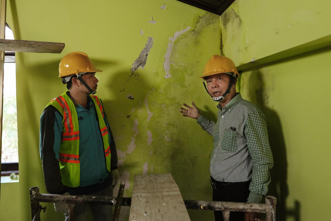 Kế hoạch giải cứu ngôi nhà bị nồm ẩm lâu năm tại Đà Lạt - Ảnh 2.