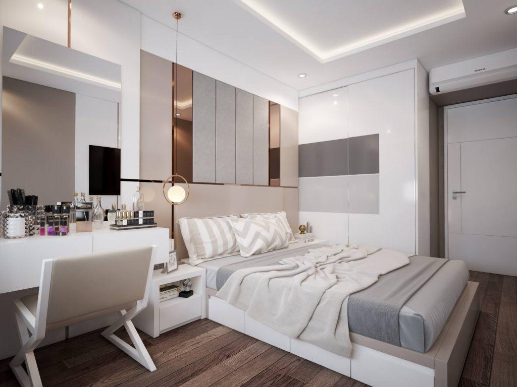 Tư vấn thiết kế căn hộ chung cư diện tích 56m2 với tổng chi phí 100 triệu đồng - Ảnh 11.
